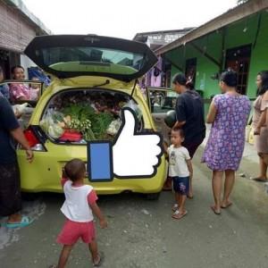 Dianggap Gaya di Jawa, Brio Jadi Gerobak Sayur dan Fortuner Jadi Angkot di Papua