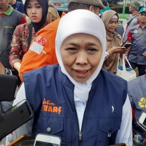 Seluruh Kabupaten/Kota Masuk Zona Merah, Gubernur Kaji Penerapan PSBB Se-Jawa Timur