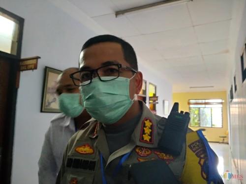 Kapolresta Malang Kota Kombespol Leonardus Simarmata (Anggara Sudiongko/Malang TIMES)
