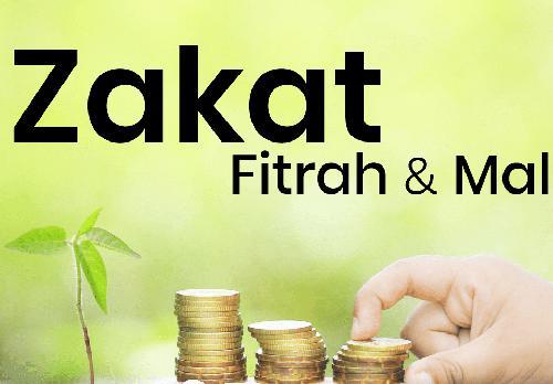 Zakat Fitrah dan zakat mal (Foto:  alkaromah.net)