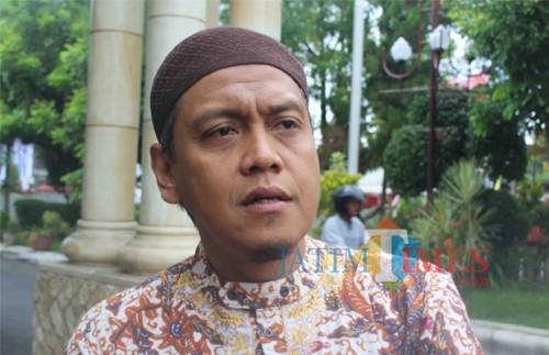 Ketua DPC PPP Kota Blitar, Agus Zunaedi.(Foto : Aunur Rofiq/BlitarTIMES)
