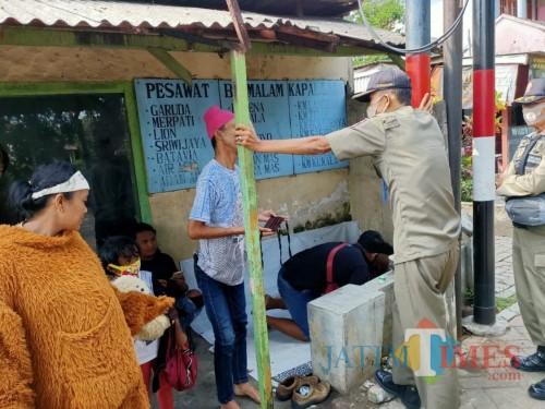 Puluhan anak jalanan saat terjaring razia oleh Satpol PP (Foto : Satpol PP Kabupaten Malang for MalangTIMES)