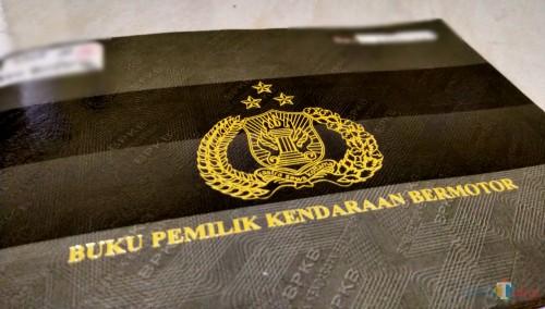 BPKB kendaran asli (Anggara Sudiongko/MalangTIMES)