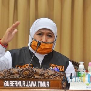 Telantarkan Pasien Covid-19, Gubernur Khofifah Ingatkan Tata Krama ke Pemkot Surabaya