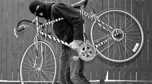 Ilustrasi maling sepeda (istimewa)