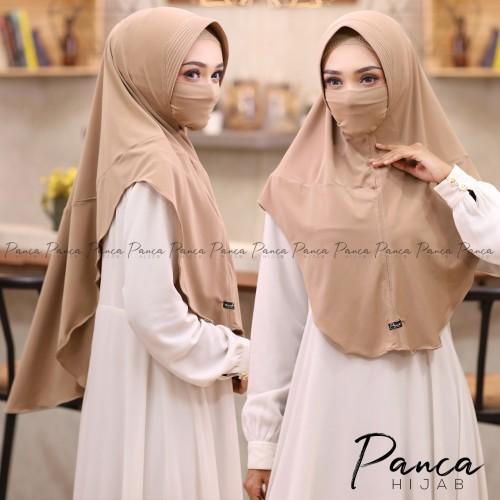 Koleksi hijab anti covid-19 ala Panca Hijab. (Foto: dokumentasi Panca Hijab).