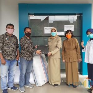 MalangTIMES-Mall Dinoyo City Sumbang 150 APD Untuk Petugas Medis di Kota Malang