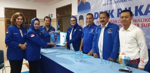 Kader Demokrat SAH Ingin Dampingi Machfud Arifin di Pilwali Surabaya