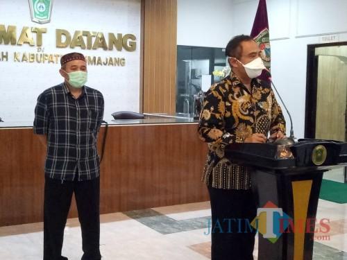 Dr. Bayu Wibowo Ignasius, Kepala Dinas Kesehatan Lumajang dan Direktur RS. dr. Haryoto Lumajang(Foto : Moch. R. Abdul Fatah / Jatim TIMES)