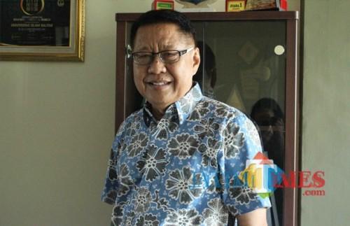 Rektor Unisba Blitar, Soebiantoro.(Foto : Aunur Rofiq/BlitarTIMES)