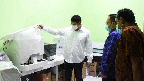 Walikota Kediri Meninjau Rumah Sakit Khusus Penanganan Covid-19. (Foto: Ist)
