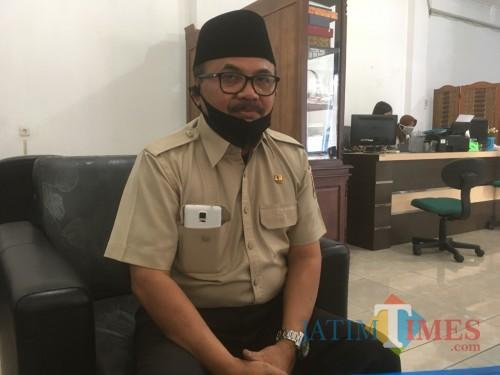 Kepala Bapenda Kabupaten Malang, Dr Purnadi saat menjelaskan potensi pajak restoran (Foto : Ashaq Lupito / MalangTIMES)