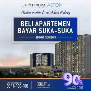 Beli Apartemen The Kalindra Malang Sekarang, Bayarnya Tahun Depan