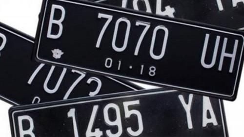 Ilustrasi plat kendaraan palsu (Carmudi)