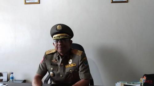 Kasatpol PP Kota Malang, Priyadi (dokumentasi MalangTIMES).