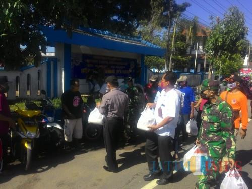 TNI, Polri dan BPBD Bersatu Atasi Dampak Covid-19 di Pacitan