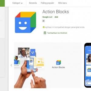 Google Luncurkan Aplikasi Action Blocks, Apa Itu?