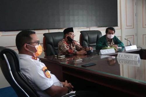 Audiensi Wali Kota Malang Sutiaji dengan driver ojek dan taksi online di Kota Malang (Humas Pemkot Malang for MalangTIMES).