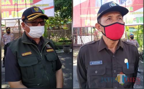 Bupati Tulungagung Maryoto Birowo dan Ketua DPRD Kabupaten Tulungagung, Marsono / Foto : Anang Basso / Tulungagung TIMES
