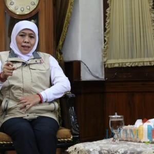 Gubernur Khofifah Ajak Masyarakat Bersilaturahmi Manfaatkan Teknologi di Hari Raya
