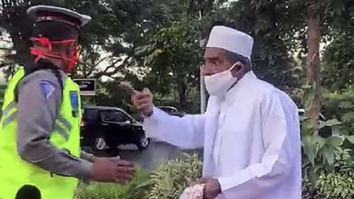 Habib Umar Assegaf (Foto: CNN Indonesia)