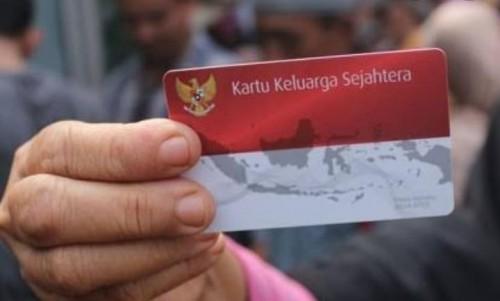Ilustrasi kartu PKH yang di tarik Dinas Sosial Kab.Madiun