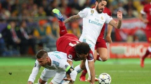 Sejarah Sergio Ramos 'Cederai' Salah Buat Real Madrid Juara Champions 2018