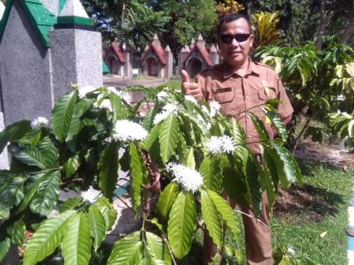 Bunga 4000 Pohon Kopi, Tambah Suka Cita UPT PPU saat Lebaran