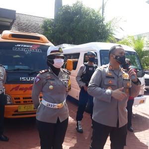 Tiga Travel Gelap Diamankan Petugas di Tiga Check Point Kabupaten Malang
