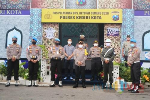 Tim Divpropam Polri Melaksanakan Giat Gagtiblin di Polres Kediri Kota. (Foto: Ist)