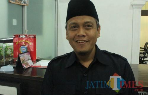 Wakil Ketua DPRD Kota Blitar, Agus Zunaidi.(Foto : Aunur Rofiq/BlitarTIMES)