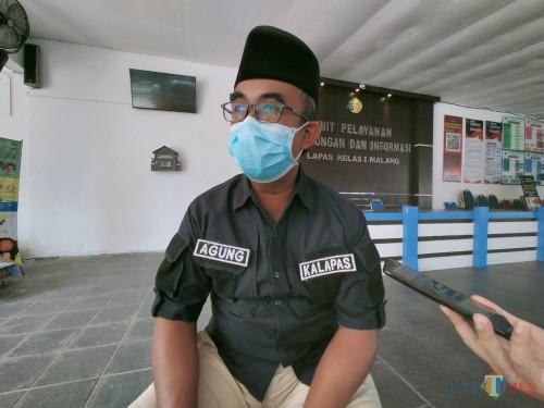 Kalapas Klas 1 Malang, Agung Krisna (Anggara Sudiongko/MalangTIMES)