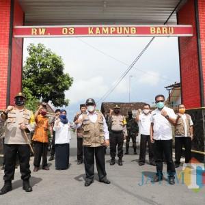 Resmikan Kampung Tangguh di Wlingi, Bupati Blitar: Lawan Covid-19 dengan Gotong Royong
