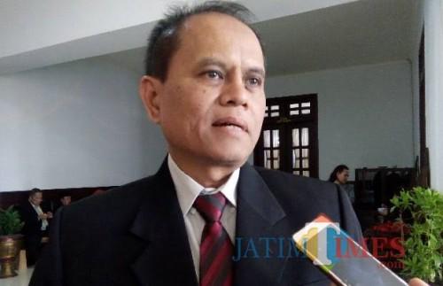 Kepala Dinas Koperasi, Perindustrian, dan Perdagangan (Diskoperindag) Kota Malang, Wahyu Setianto (dokumentasi MalangTIMES)