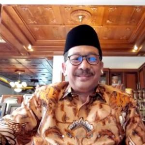 Wakil Menteri Agama Beri Wejangan WFH dalam Halalbihalal Virtual UIN Malang