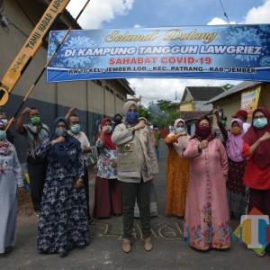 Komunikasi Kampung Tangguh Pakai Aplikasi, Bupati Jember: Lebih Cepat Layani Warga