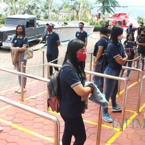 Sektor Pariwisata segera Dibuka, Museum Angkut Simulasikan Jarak Antrean Tiket dan Toilet