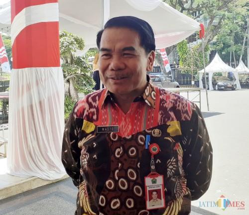Sekretaris Daerah (Sekda) Kota Malang Wasto. (Arifina Cahyanti Firdausi/MalangTIMES).