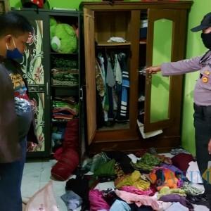 Sekap Pemilik Rumah, Kawanan Perampok Gasak Uang dan Perhiasan Warga Surowono Kediri