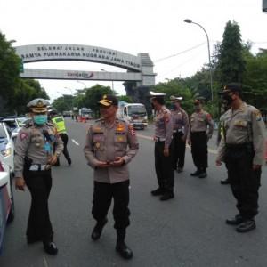 Jalur Perbatasan Jatim-Jateng Rawan, Polisi Perketat Pencegahan Arus Balik ke Jakarta