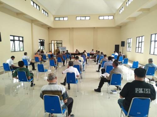 Rapat koordinasi berkaitan dengan rencana pembangunan Jenbatan Kedungkandang Kota Malang (Istimewa).