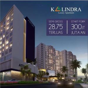 The Kalindra, Satu-satunya Apartemen dengan Tipe Studio Paling Luas di Malang