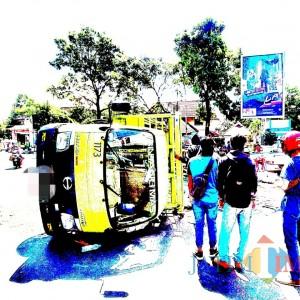 Dampak PSBB, Kasus Kecelakaan Lalu Lintas Bulan Ini Turun