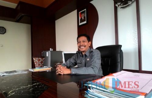 Wahyu Hidayat, sosok yang ditunjuk Plt Sekda Kabupaten Malang oleh Bupati (Foto : Malangtimes)
