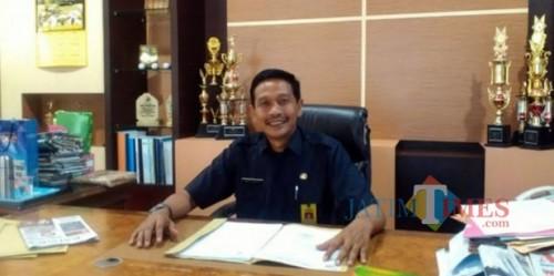 Kepala DPKPCK Kabupaten Malang Wahyu Hidayat telah menerima mandat dari Bupati Sanusi sebagai plt sekda Kabupaten Malang. (Dok. JatimTIMES)