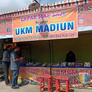 Sulit Jualan, UMKM Makanan Siap Saji di Kota Madiun Dapat Fasilitas Lapak Bersama
