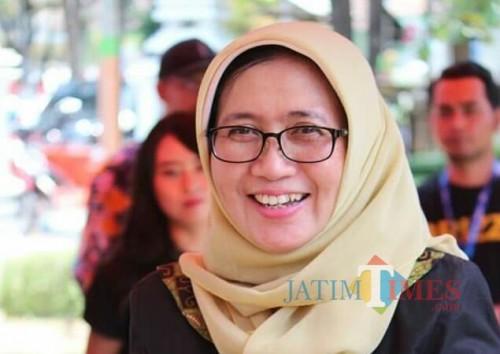 Wakil Bupati Lumajang Ir. Hj. Indah Amperawati M.Si (Foto ; Moch. R. Abdul Fatah / Jatim TIMES)