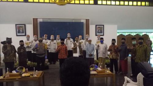 Rakor Persiapan Pelaksanaan New Normal di Pendopo Sabha Swagatha Blambangan Banyuwangi Nurhadi Banyuwangi Jatim TIMES