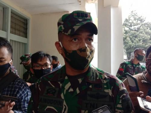 Komandan Korem 083/ Baladhika Jaya, Kolonel Inf. Zainuddin (Ist)