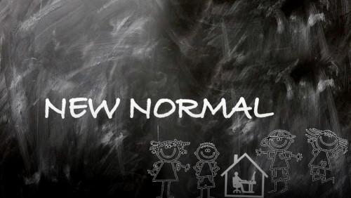 Ilustrasi new normal life. (Foto:  Langgam.id)